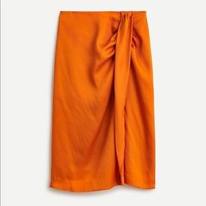 ✨NWT✨J. CREW // Sarong skirt in Bronzed Spice
